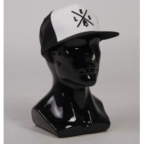 Кепка LES Trucker BLACK/WHITE/BLACK